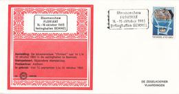 Nederland - Zegelkoerier Nederlandse Poststempels - Bloemenshow Floriant Veilinghallen Bemmel -  Nr. 1983/35 - Marcofilie - EMA (Print Machine)
