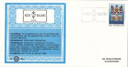Nederland - Zegelkoerier Nederlandse Poststempels - Kerkbalans 1984 - Rotterdam -  Nr. 1984/1 - Marcofilie - EMA (Print Machine)