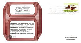 Nederland - Zegelkoerier Nederlandse Poststempels - Koop Zomerzegels - Zomerzegels Brengen Levensvreugde -  Nr. 1984/8 - Marcofilie - EMA (Print Machine)
