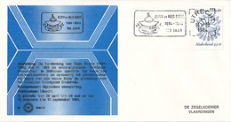 Nederland - Zegelkoerier Nederlandse Poststempels - Betty En Kees Boeke 1884-1984 100 Jaar -  Nr. 1984/18 - Marcofilie - EMA (Print Machine)
