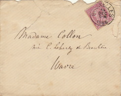 Bruxelles Wavre Madame Collon Lehardy De Beaulieu - 1884-1891 Leopoldo II