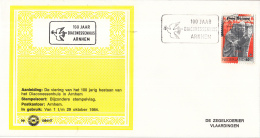 Nederland - Zegelkoerier Nederlandse Poststempels - 100 Jaar Diaconessenhuis Arnhem - Nr. 1984/47 - Marcofilie - EMA (Print Machine)