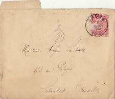 Bruxelles Wavre Madame Lambrichs - 1884-1891 Leopold II