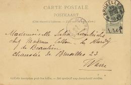 Bruxelles Wavre Madame Lambrichs Le Hardy De Beaulieu - 1893-1907 Wappen