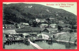 Roumanie. Baile Telega. Judetul Prahova. Feldpoststation Nr 207. Mobile Etappen Kommandantur Nr 263. 1916 - Rumania