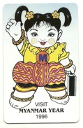 Myanmar - Tessera Telefonica Da 200 Kyat T148 - MPT