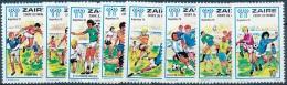 N° 928/35, Football - La Série Complète - Zaire