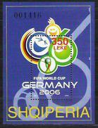 Albanien 2006** Fußball WM Allem. Fed. NUR 4000 Blocks - Albanien