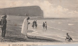 -  76 - CRIEL PLAGE - DEVANT L'OBJECTIF - - Criel Sur Mer