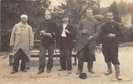 BOUCHES DU RHONE  13  MARSEILLE    GUERRE 14 18  SANTE  SOLDATS HOSPITALISES  CARTE PHOTO - Marseilles