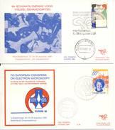 Trompet Envelop Nr. S37 En S38 (1980) - 1980-... (Beatrix)