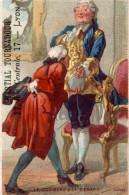 CHROMO AU DERNIER MOT DU BON MARCHE MARTIAL TOURNADOUR A LYON LE CORBEAU ET LE RENARD LITHO ARNAUD - Other