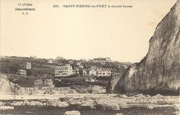 CPA - 76 - Saint Pierre En Port - à Marée Basse - N° 231 - Fécamp