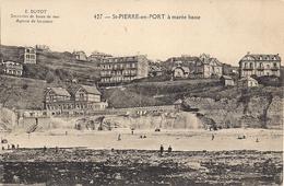 CPA - 76 - Saint Pierre En Port - à Marée Basse - N° 427 - Fécamp