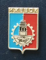 Town Izhevsk, Coat Of Arms, Russia - Cities