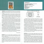RECONNAISSANCE DES Mugas FRONTIER  - JACA - DOCUMENT INSTRUCTIF DE L´ÉMISSION DE TIMBRE ESPAGNE - España