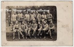 WWI MARS 1918 - LE 99 EME REGIMENT D INFANTERIE DANS LES TRANCHEES - CHEVRONS - CARTE PHOTO MILITAIRE - Guerre 1914-18