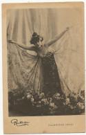 Valentine Petit Par Reutlinger Belle Femmes Aux Ailes De Papillons Pionniere Avant 1903 - Artistes