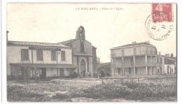 FR66 LE BARCARES - Fau - Place De L'église - Café Hôtel Planet - Animée - Belle - Port Barcares