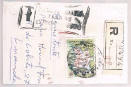 Angola, 1955, Registado, Fragmento - Angola