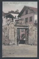 Postal De Lorvão,Penacova,Coimbra.Entrada Do Pátio Do Convento/Mosteiro De Lorvão. Edição Manuel T. Sousa,Lorvão.2 Scan - Coimbra