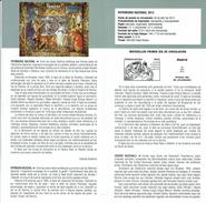 PATRIMOINE NATIONAL - TAPISSERIE - MARIAGE DE ZENOBIA ET ODONATO - DOCUMENT INSTRUCTIF DE L´ÉMISSION DE TIMBRE ESPAGNE - España