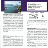 PONT DES SAINTS SUR L'ESTUAIRE RIBADEO - DOCUMENT INSTRUCTIF DE L´ÉMISSION DE TIMBRE ESPAGNE - España