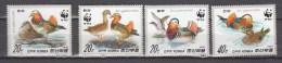 North Korea 1987,4V,set,WWF,birds,vogels,vögel,oiseaux,pajaros,uccelli,aves,MNH/Postfris(A2980) - Vogels