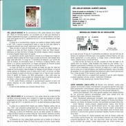 ANNÉ JUBILÉ MARIAL - ALMONTE HUELVA - DOCUMENT INSTRUCTIF DE L´ÉMISSION DE TIMBRE ESPAGNE - España