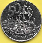 50 CENTS 2002 - Nouvelle-Zélande