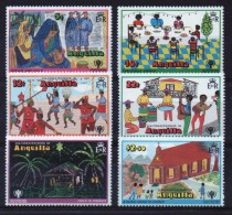 Anguilla Set Of Stamps To Celebrate Year Of The Child. - Anguilla (1968-...)