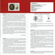 CRÉATION D'INSPECTION DES FINANCES PUBLIQUES - DOCUMENT INSTRUCTIF DE L´ÉMISSION DE TIMBRE ESPAGNE - España