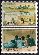 (A) Spanish Sahara 1975 - Child Welfare - Paintings  Mint - Sahara Español