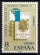 (A) Spanish Sahara 1975 - International Philatelic Exhibition ESPANA '75, Madrid  Mint - Sahara Español
