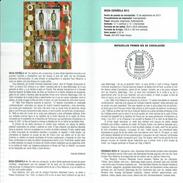 FASHION ESPAGNOLE - PACO RABANNE - DOCUMENT INSTRUCTIF DE L´ÉMISSION DE TIMBRE ESPAGNE - España