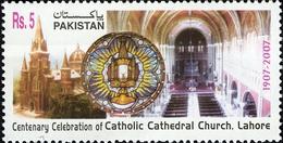 2007 Pakistan Centenary Celebration Of Catholic Cathedral Church Lahore (1v) MNH (PK-83)