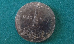 1930, Gloire A Liege La Vaillante, 6 Gram (med334) - Souvenir-Medaille (elongated Coins)