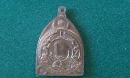 1918, Ville De Malines, Burgemeester Karel Dessain, 12 Gram (med338) - Souvenir-Medaille (elongated Coins)