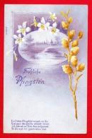 Fröliche Pfingsten. Diedenhofen (Thionville). 1900 - Pentecôte