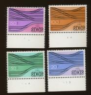 Avec Numéros De Planche     TR 428/431 - 1952-....