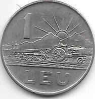 Romania 1 Leu 1963  Km 90    Unc - Roumanie