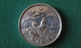 1895, Les Aviculteurs Belges, Commune De Merchtem, 52 Gram (med340) - Elongated Coins