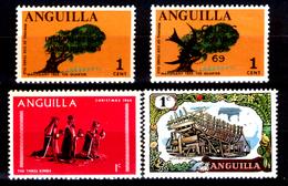 Anguilla-005 - Valori Emessi Negli Anni 1968-1970 (+) LH - Privi Di Difetti Occulti. - Anguilla (1968-...)