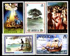 Anguilla-006 - Valori Emessi Negli Anni 1972-1973 (++/+) MNH/LH - Privi Di Difetti Occulti. - Anguilla (1968-...)