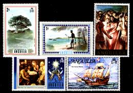 Anguilla-007 - Valori Emessi Negli Anni 1972-1973 (++/+) MNH/LH - Privi Di Difetti Occulti. - Anguilla (1968-...)