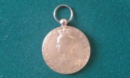 1914-1918, Ter Herinnering Aan Zijn Medewerking, Souvenir De Sa Collaboration, 18 Gram (med345) - Elongated Coins