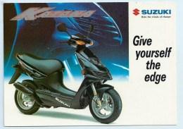 Suzuki Katana AY 50 - Adverising Card - Motorbikes