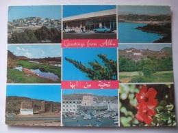 645A Postcard Saudi Arabia - Greetings From Abha - Arabie Saoudite