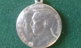 1914, Pour L'enfant Du Soldat, 4 Gram (med350) - Souvenirmunten (elongated Coins)