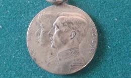1914, Pour L'enfant Du Soldat, 10 Gram (med352) - Souvenirmunten (elongated Coins)
